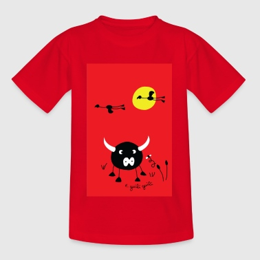 red camargue - Teenage T-shirt