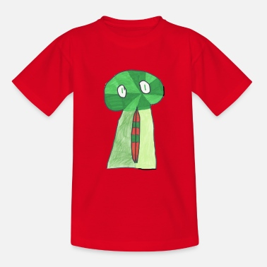 Green Skull green skull - Teenage T-Shirt