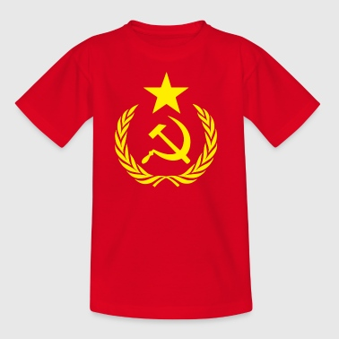 Communistische Hamer Sickle - Teenager T-shirt