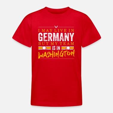 Washington Football Fans Germany - Teenager T-Shirt 114f34677