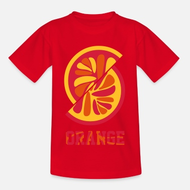 Orange orange orange - Teenager T-Shirt