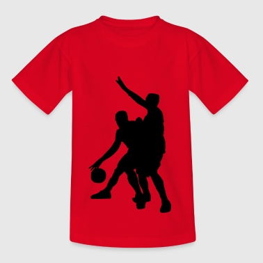 defensie basketbal - Teenager T-shirt