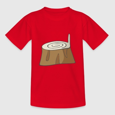 Tree trunk - Teenage T-Shirt