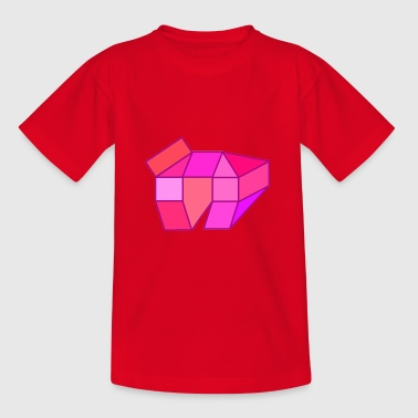Rosa - Teenager T-Shirt
