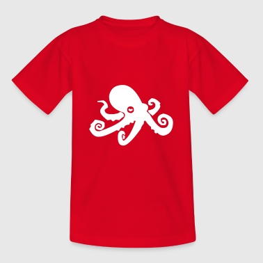Octopus octopus octopus octopus - Teenage T-Shirt