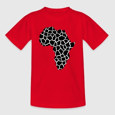 AFRIKA - continent girafpatroon - Teenager T-shirt