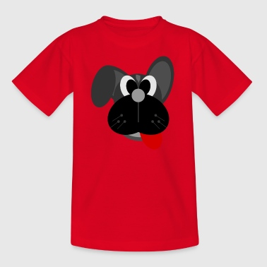 hond cartoon - Teenager T-shirt