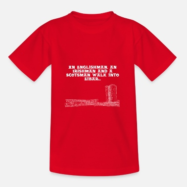 Disabled Jokes Eibar Joke - Teenage T-Shirt