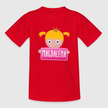 Magdalena Little Princess Magdalena - Teenager T-shirt