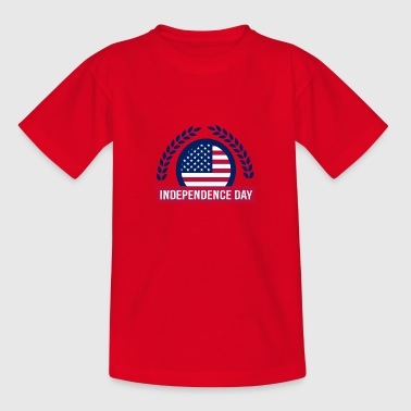 Fourth of July Independence day - Teenage T-Shirt