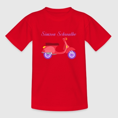 Simson swallow - Teenage T-shirt