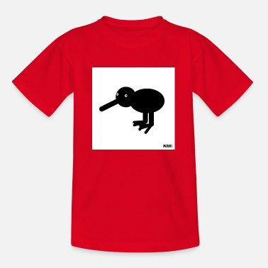 Kiwi Kiwi Abstract Animals Gift Gift Idea - Teenager T-shirt