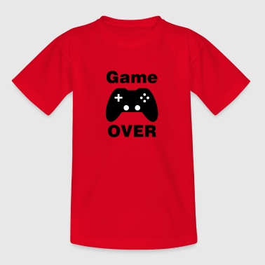 GAME OVER Controller Gaming Gift - T-skjorte for tenåringer