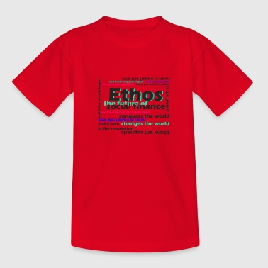 ethos the future of social finance - Teenager T-Shirt
