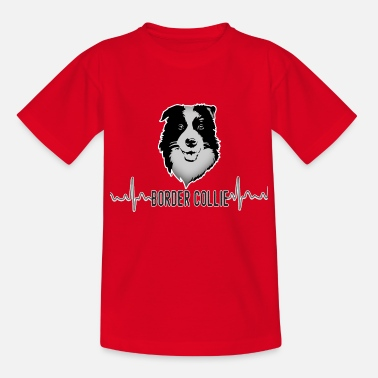 Border Collie Border Collie - Camiseta adolescente