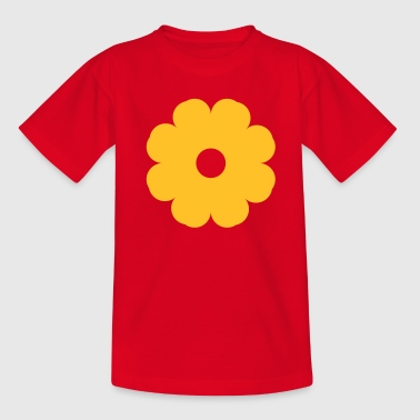 Flower Power - Camiseta adolescente