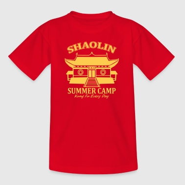 Shaolin Summer Camp - Teenager T-Shirt