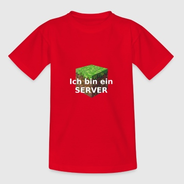 Ik ben een SERVER - Teenager T-shirt