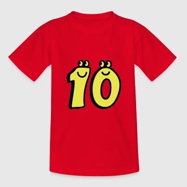 Zehn 10 10 - Zehn - Teenager T-Shirt