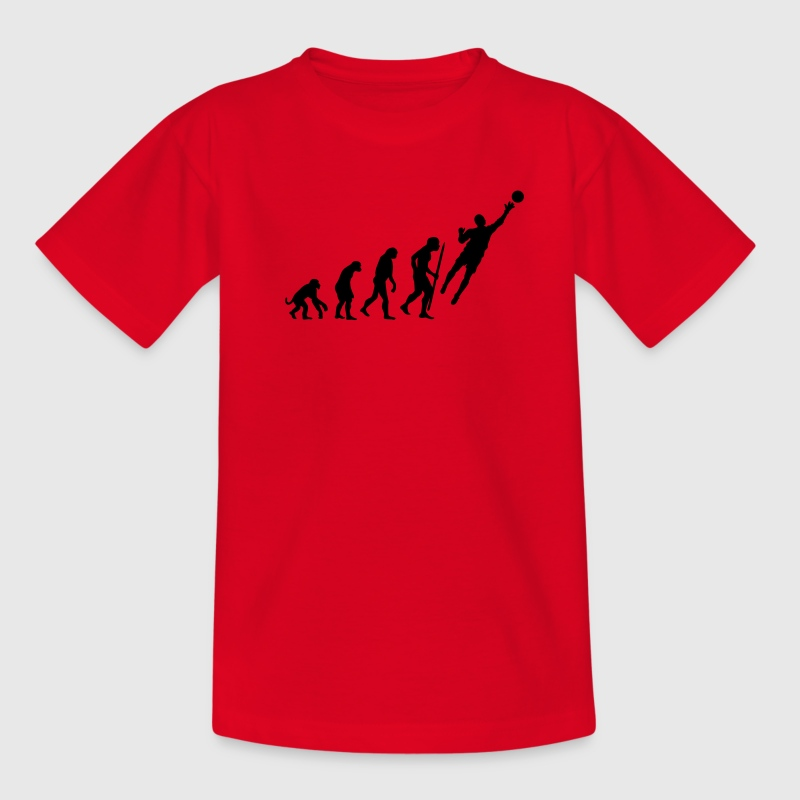 Evolution Goalkeeper Soccer - Teenage T-shirt