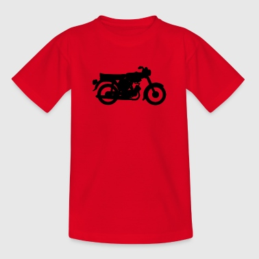 The Simson S51 black - Teenage T-shirt
