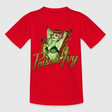 Bombshells Poison Ivy Portrait teenager T-shirt - Teenager-T-shirt