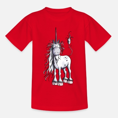 Pony Eenhoorn Tijd - Pony - Pony's - Teenager T-shirt