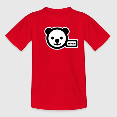 potty-bear - Teenage T-Shirt