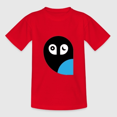 Funny Owls Sticker - Teenage T-Shirt