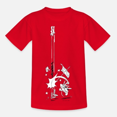 Idefix Asterix & Obelix Tchac! Teenager T-Shirt - Teenager T-Shirt