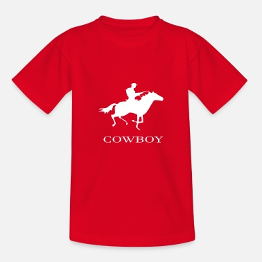 Cowboy cowboy - Teenage T-Shirt