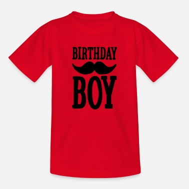 Hipster Snor Birthday Boy Hipster - Teenager T-shirt