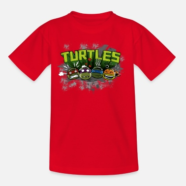 Officialbrands Kids Shirt 'TURTLES' - Teenage T-Shirt