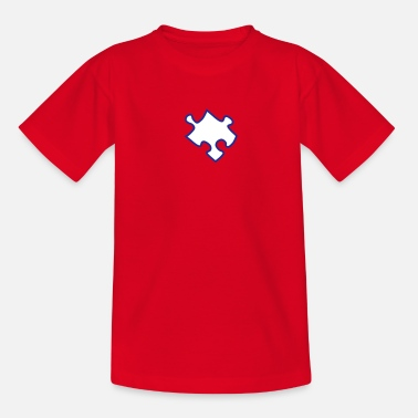 Puzzle Puzzle - Teenage T-Shirt