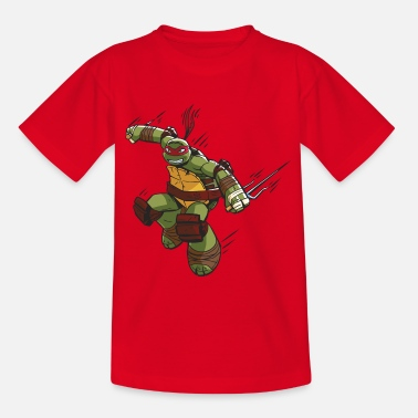 TMNT Turtles Raphael Ready For Action - Camiseta adolescente