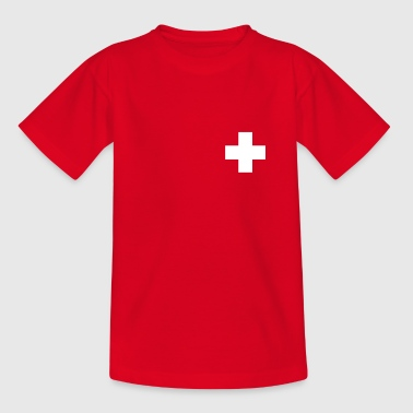 Schweizerkreuz - Teenager T-Shirt