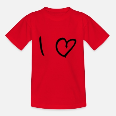 I Love I Love - Teenager T-Shirt