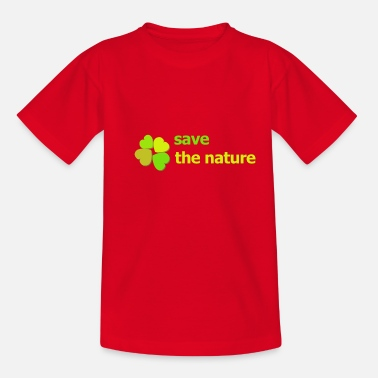 Planet save the planet - Teenager T-Shirt