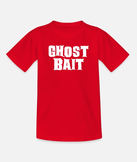 Horror Film T-Shirts - Ghost Ghost Hunter Ghost Hunt Ghost Gift - Teenage T-Shirt red