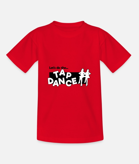 Gift T-Shirts - Tap Dance - Teenager T-Shirt Rot