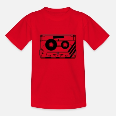 Kassette Kassette audio-kassette - T-shirt teenager