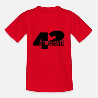 Space 42 - Teenager T-Shirt