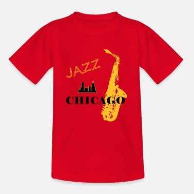 CHICAGO JAZZ - Teenager T-shirt