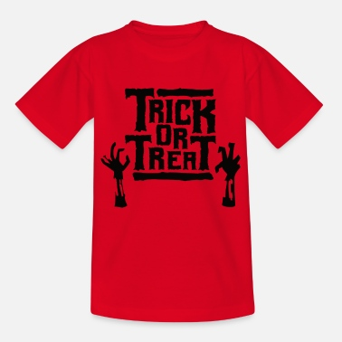 Halloween Trick or Treat - Halloween - Teenage T-Shirt