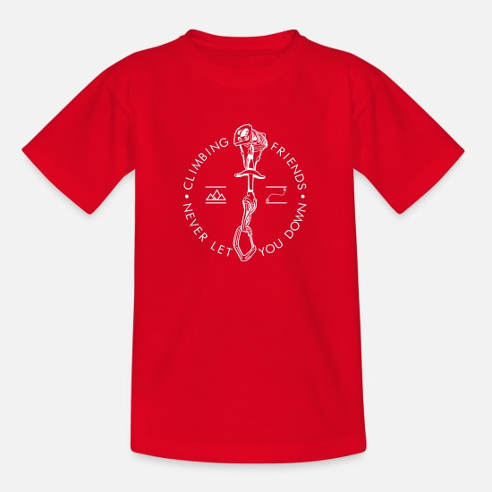 Escalade T-shirts - Escalade, Amis - T-shirt Ado rouge