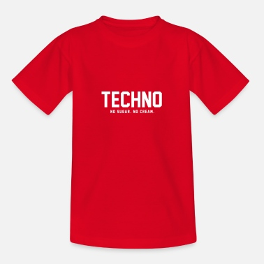 Dark Dark Techno - T-shirt teenager