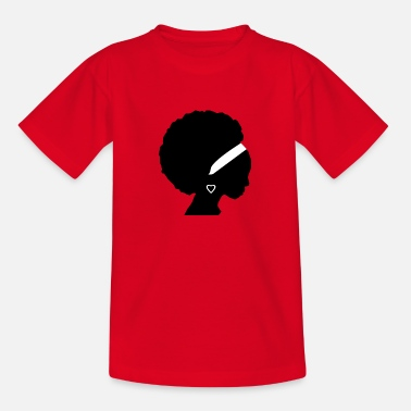 Afro Afro - Teenager T-Shirt
