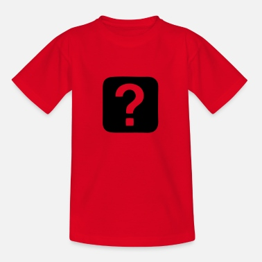 Question Question Mark - Question - Teenage T-Shirt