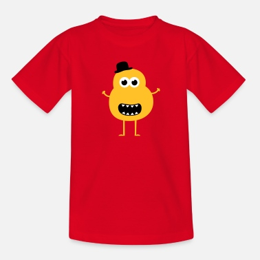 Cookie Funny Vintage Monster - T-shirt tonåring