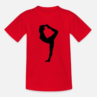 Sportlerin Turnen Aerobic Yoga Pilates - Teenager T-Shirt